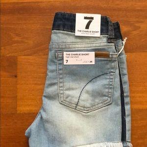Charlie short high rise short Joe's Jeans